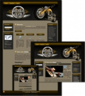 Bikers Club - WP Theme Template with Master Resale Rights