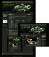 Racer - WP Theme Template with Master Resale Rights