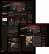 Biking - WP Theme Template with Master Resale Rights