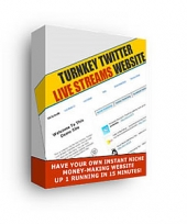Turnkey Twitter Live Streams Website Software with Master Resale Rights