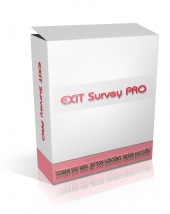 Exit Survey Pro Software with Master Resale Rights
