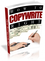 How To Copywrite Right eBook with Resale Rights