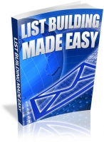 List Building Made Easy eBook with Resale Rights