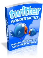 Twitter Wonder Tactics eBook with Resale Rights