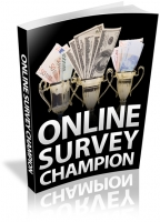 Online Survey Champion eBook with Resale Rights