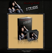 Dealing With Stress - Minisite Template with Personal Use Rights