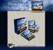 Dream Vacations - Minisite Template with private label rights