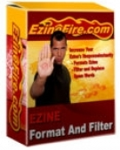Ezine Format And Filter Software with Master Resell Rights