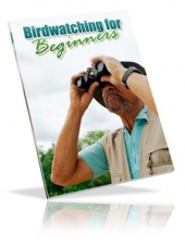 Bird Watching For Beginners eBook with private label rights