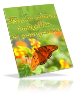 How To Attract Butterflies To Your Garden eBook with Private Label Rights