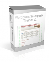 Wordpress Salespage Themes V1 Graphic with Private Label Rights