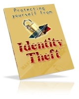 Protecting Yourself From Identity Theft eBook with Private Label Rights