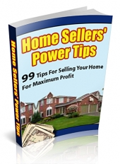 Home Sellers' Power Tips eBook with Private Label Rights