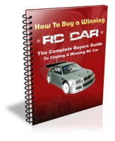 How To Buy A Winning RC Car eBook with private label rights