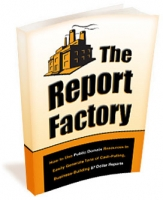 The Report Factory eBook with private label rights
