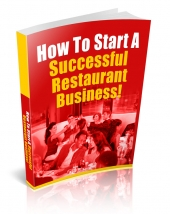 How To Start A Successful Restaurant Business eBook with Private Label Rights