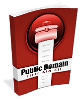 Public Domain First Aid Kit eBook with Personal Use Rights