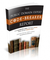 The Public Domain Expert Code-Breaker Report eBook with Resale Rights