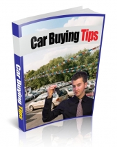 Car Buying Tips eBook with Private Label Rights