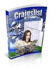 Craigslist Profits Unleashed eBook with Private Label Rights