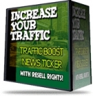 Traffic Boost News Ticker Software with Resell Rights