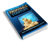 Profitable Startups eBook with private label rights