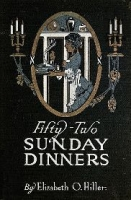 Fifty Two Sunday Dinners eBook with private label rights