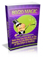 80/20 Magic eBook with Master Resale Rights