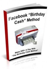 Facebook Birthday Cash eBook with Private Label Rights