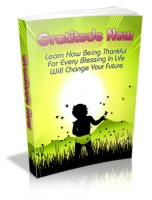 Gratitude Now eBook with private label rights