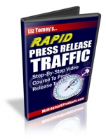 Rapid Press Release Traffic Video with Master Resale Rights