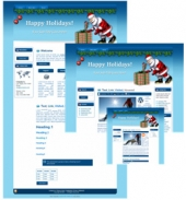 Santa WP Theme Graphic with Master Resale Rights