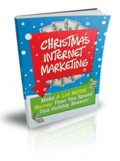 Christmas Internet Marketing eBook with Master Resale Rights