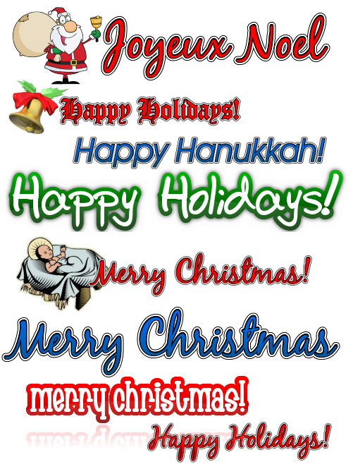 Holiday Clipart Collection