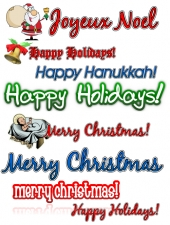 Holiday Clipart Collection Graphic with Master Resale Rights