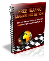 Free Traffic Marketing Report eBook with Private Label Rights