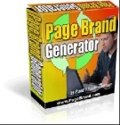 Page Brand Generator Software with Resell Rights