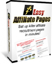 Easy Affiliate Pages Software with Personal Use Rights