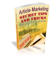 Article Marketing Secret Tips And Tricks eBook with Master Resale Rights