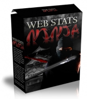 Web Stats Ninja Software with Master Resale Rights