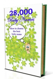28,000 Baby Names eBook with Master Resale Rights