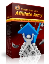 Create Your Own Affiliate Army Video with Master Resale Rights
