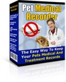 Pet Medical Recorder Software with Resell Rights