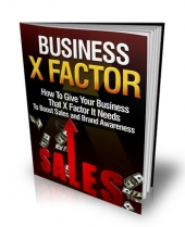 Business X Factor eBook with Master Resale Rights