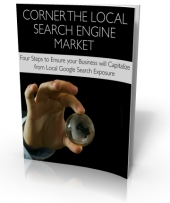 Corner The Local Search Engine Market eBook with Master Resale Rights