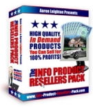 The Info Product Resellers Pack Software with Resell Rights