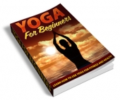 Yoga For Beginners - PLR eBook with Private Label Rights