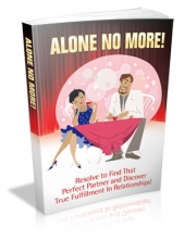 Alone No More! eBook with Master Resale Rights