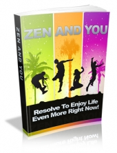 Zen And You eBook with Master Resale Rights