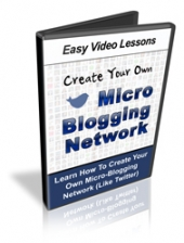 Micro Blogging Network Video with Personal Use Rights